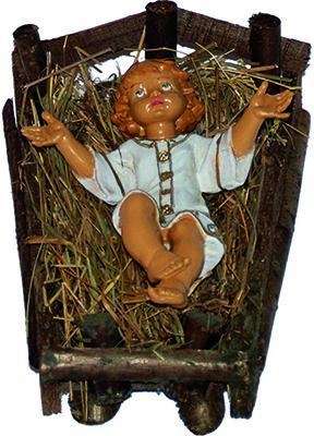Gesù Bambino per presepio cm. 40