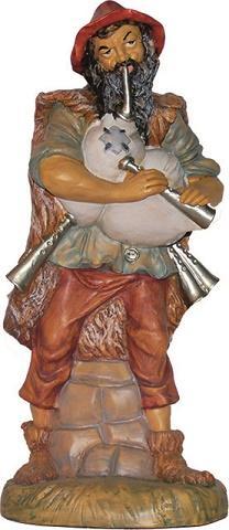 Pastore Zampognaro presepio cm. 40