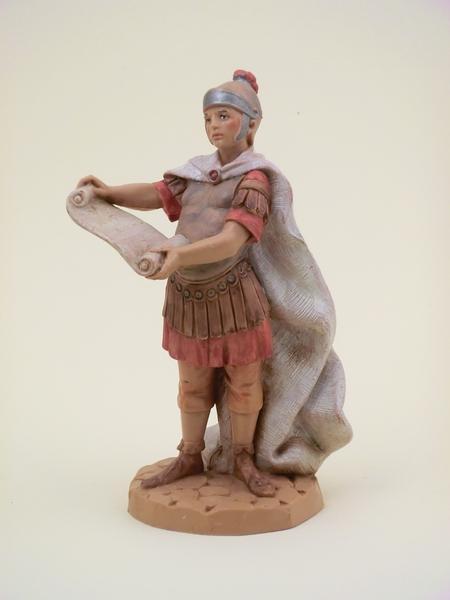 Soldato romano con editto cm 12