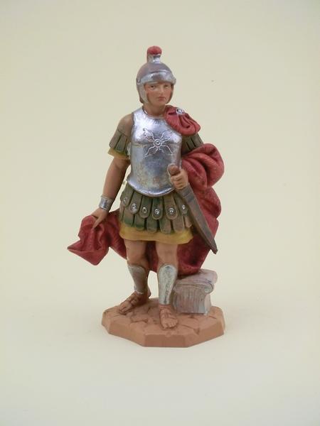 Soldato romano con spada cm 12