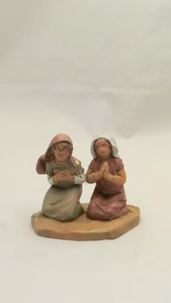 Bambine in adorazione cm 12