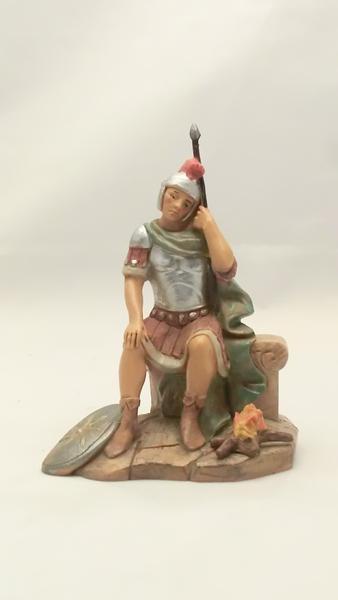 Soldato romano che dorme cm 12