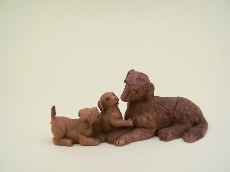Famiglia cani cm 12