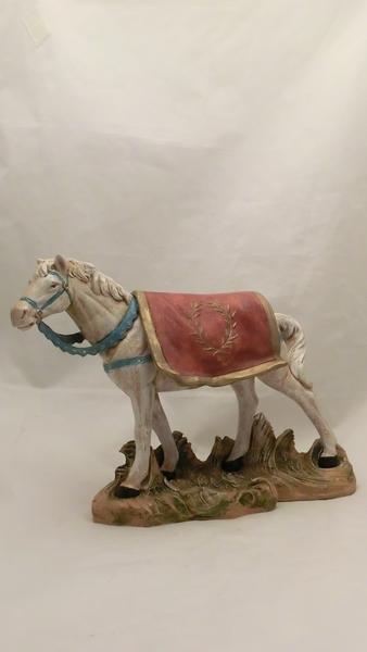 Cavallo bianco cm 19