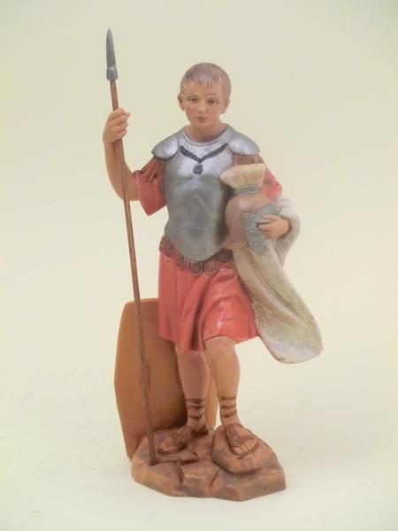 Soldato romano con lancia cm 19
