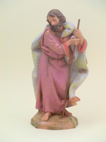 San Giuseppe tipo  legno cm.19