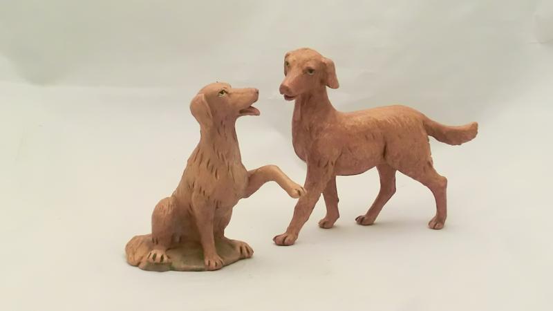 Serie 2 cani cm 30