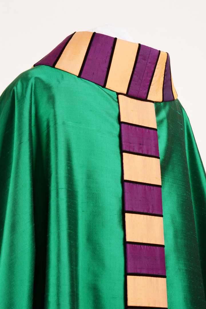 Casula CI650 Aretina Verde - Pura Seta