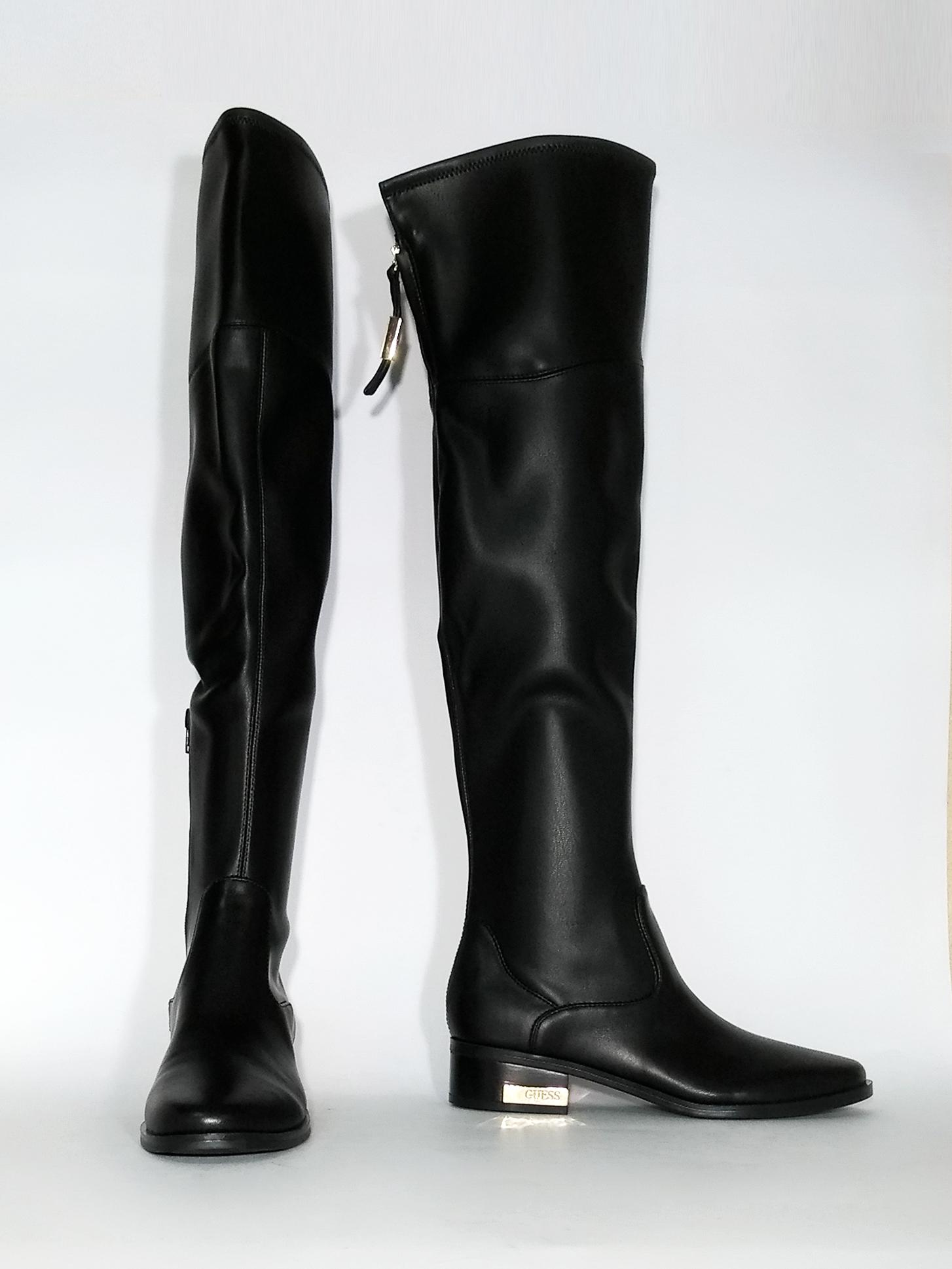 Stivale over-the-knee nero Guess