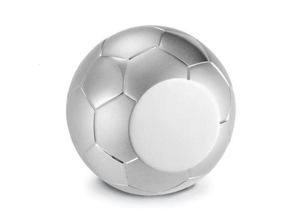 Fermacarte soccer in silver plated