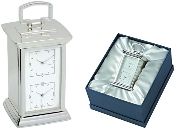 Orologio due fusi segreti lux box