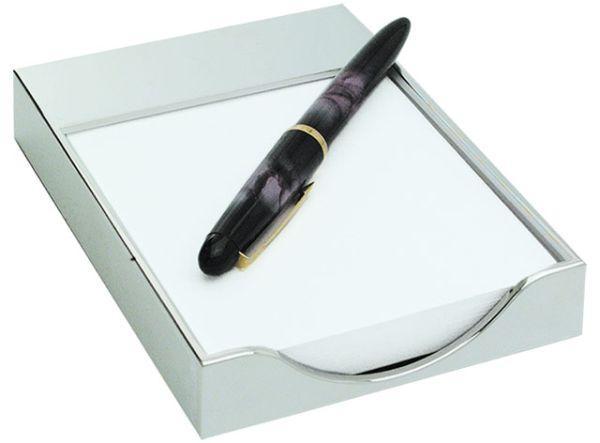 Portafoglietti splendid lux box in silver plated