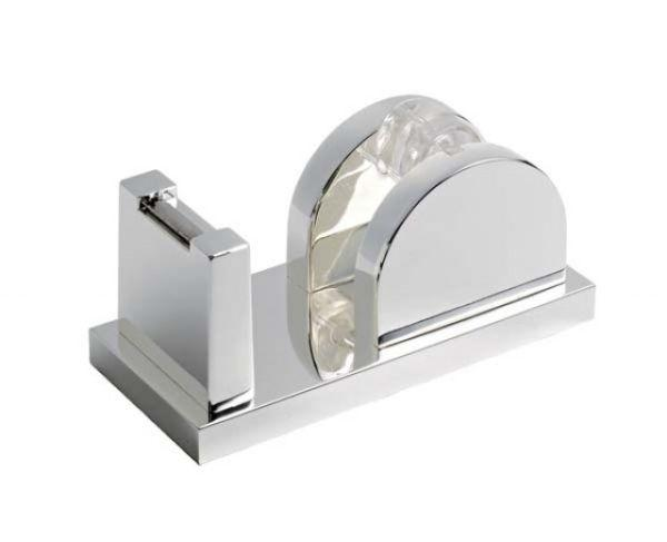 Portascotch lux box in silver plated