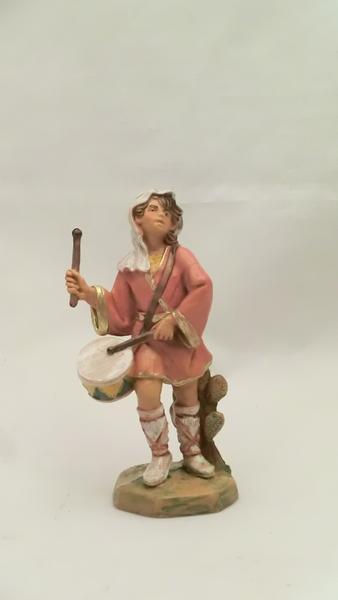 Ragazzo con tamburello cm 9,5