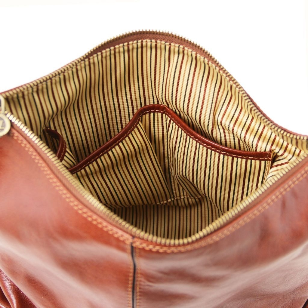 Tuscany Leather TL141479 Sabrina Borsa in pelle da donna Rosso