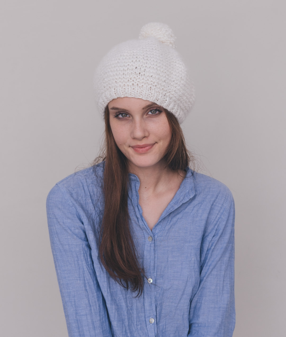 Hats and Beanies - Wool - SUGAR MILK BERET - 1