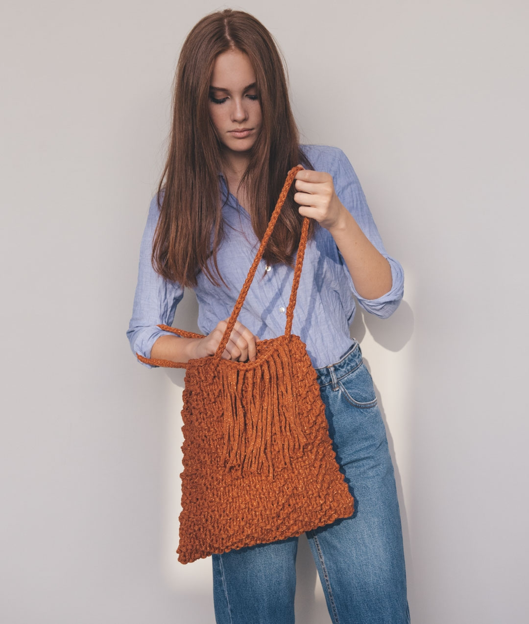 Bags - Wool - GINGERBREAD SHOPPER - 1
