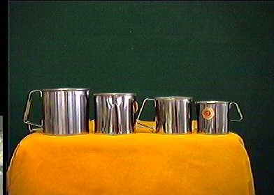 Acquista Set 6 Pignatti Simplex Acciaio 17487386   Glooke.com
