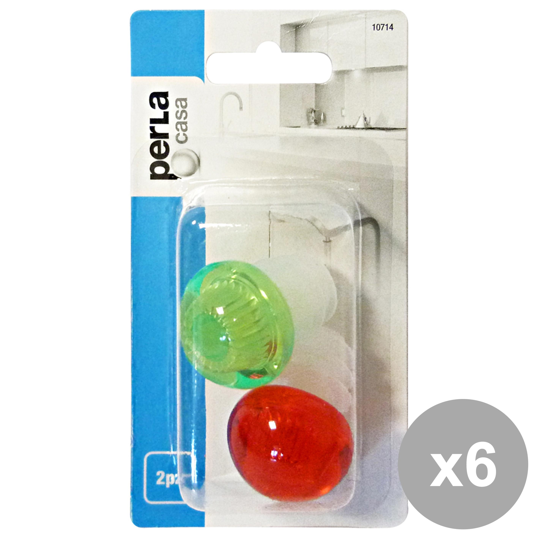 Acquista Set 6 Tappi Kristal 10714 Accessori 17504152 | Glooke.com