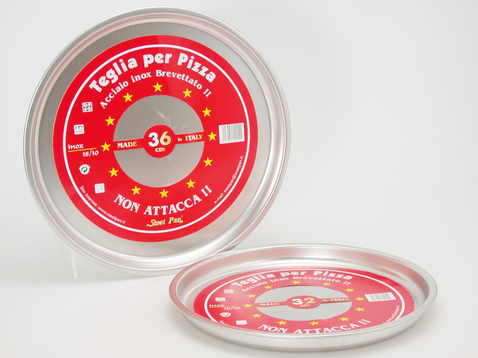 Acquista Teglia Pizza Tondo Nonstick 32 17514022 | Glooke.com