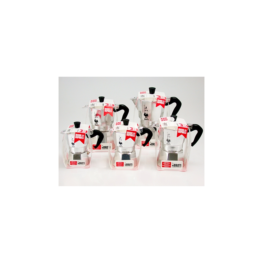 Acquista Set 6 Caffettiera Alluminio Moka 17514094 | Glooke.com