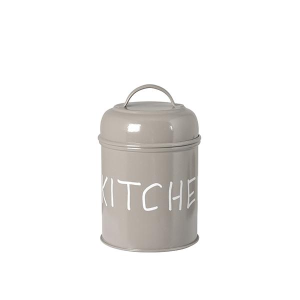 Acquista Barattolo Metallo Cucina Tortora 17527555 | Glooke.com