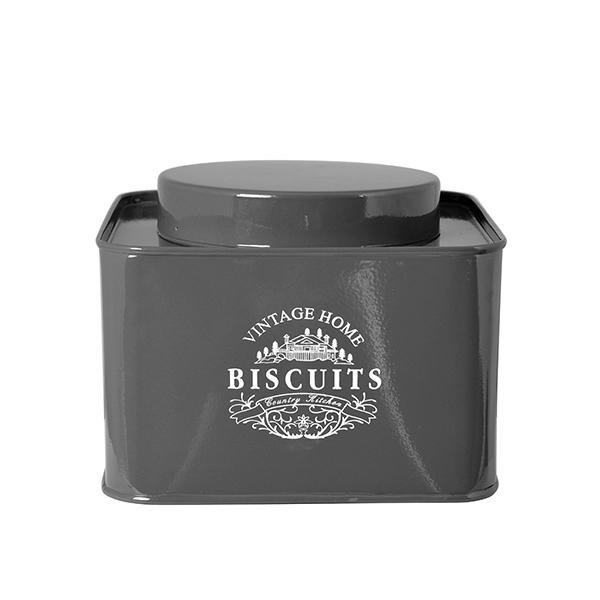 Acquista Biscottiera Metallo Antracite 17527554 | Glooke.com