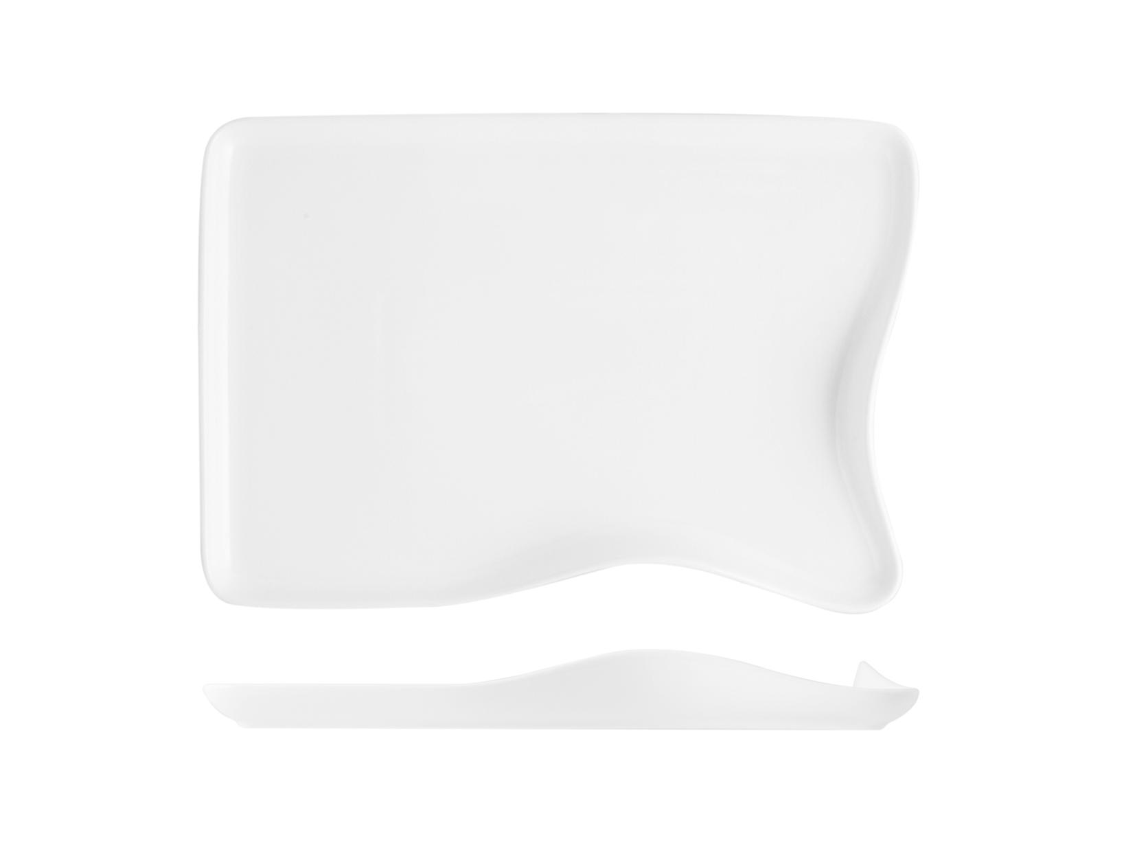 Acquista Piatto Porcellana Sagom 30 5x21 17527677 | Glooke.com