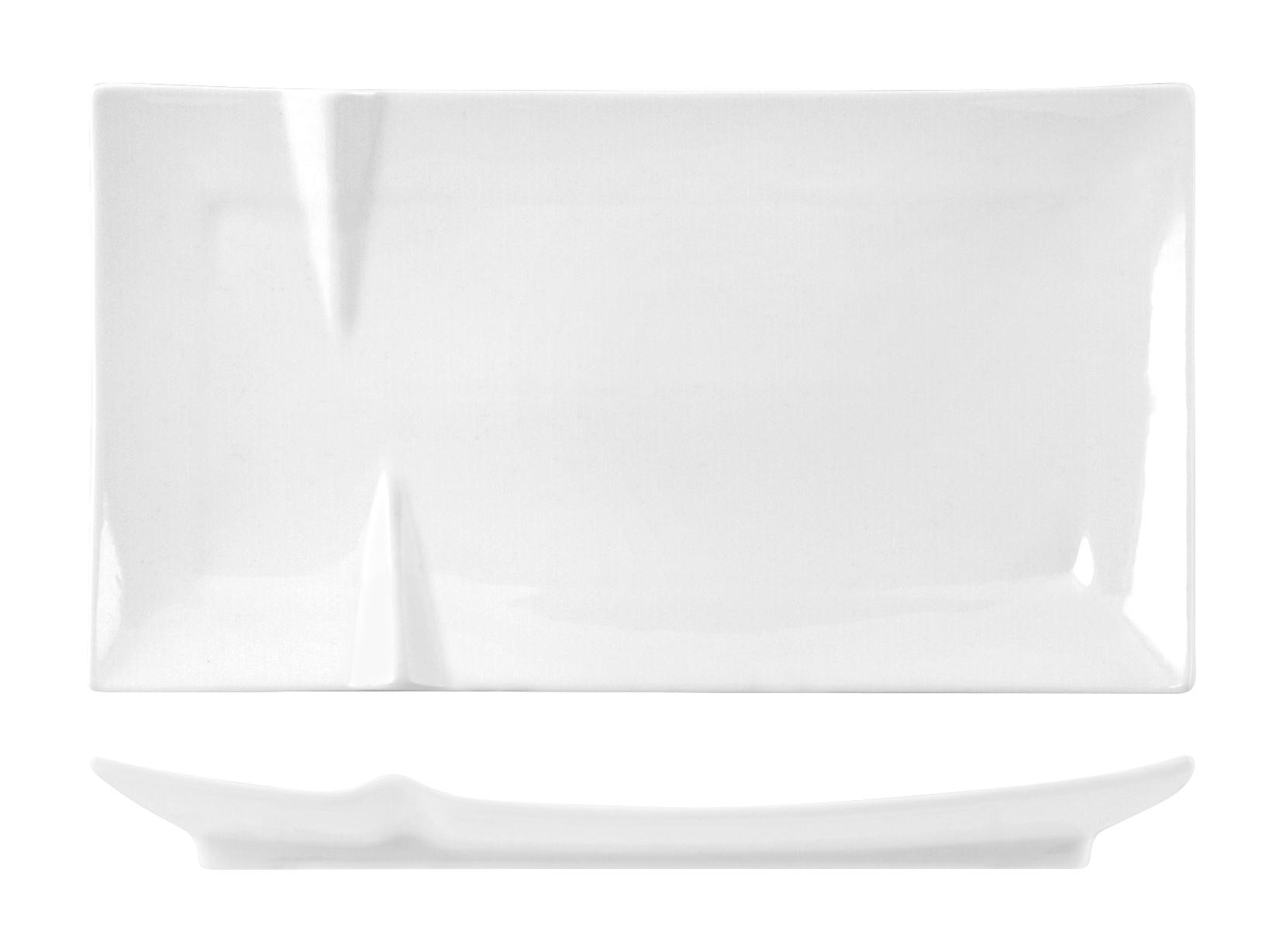 Acquista Piatto Porcellana Rettangolare 17527685   Glooke.com