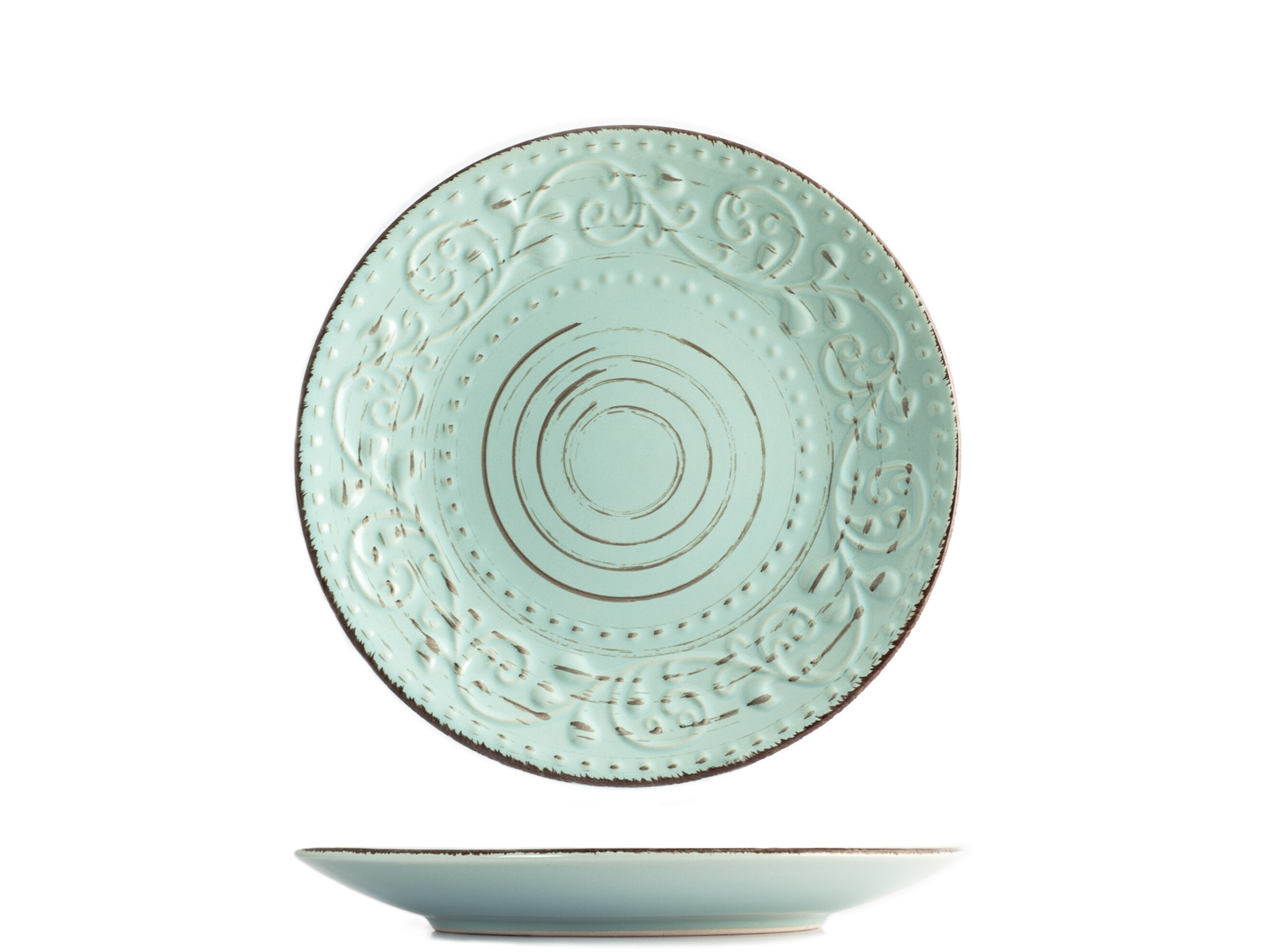 Acquista Set 6 Piatti Stoneware Courtyard 17527712 | Glooke.com