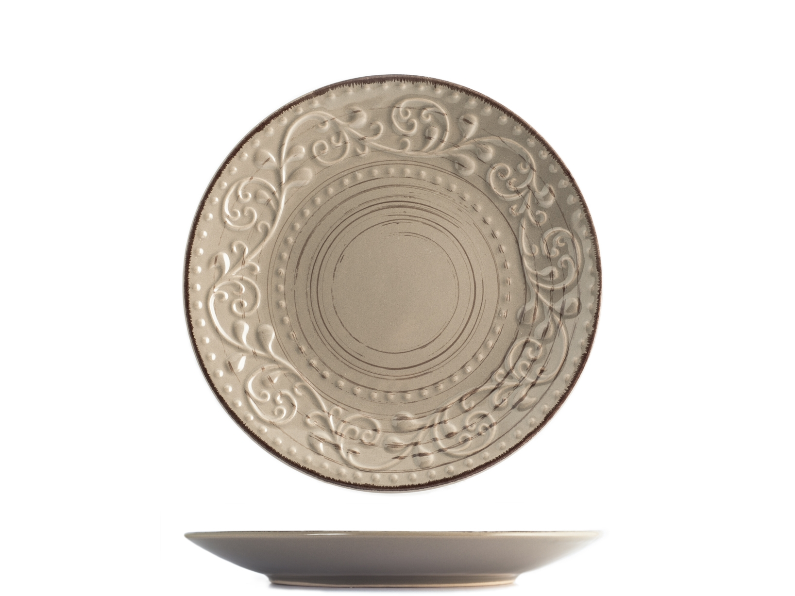 Acquista Set 6 Piatti Stoneware Courtyard 17527716 | Glooke.com