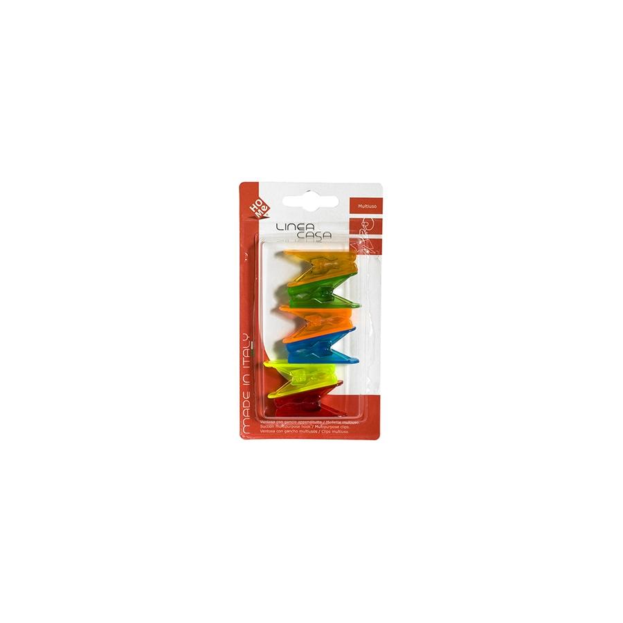 Acquista Confezione 6 Mollette Fermafogli 17527960 | Glooke.com