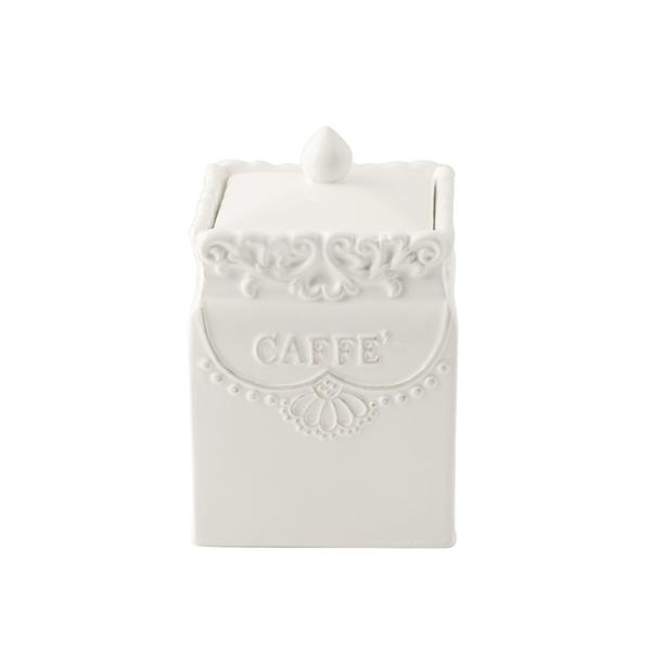 Acquista Barattolo Ceramica Quadrato Caffe 17528094 | Glooke.com