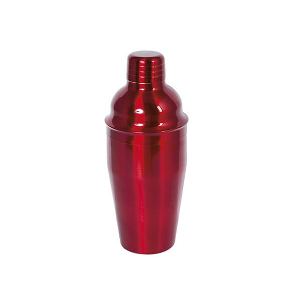 Acquista Shaker Cocktail Inox Rosso Cl55 17528247 | Glooke.com