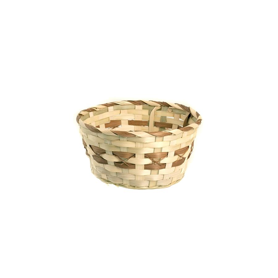 Acquista Cestino Bamboo Tondo Cm22 Utensili 17528294 | Glooke.com