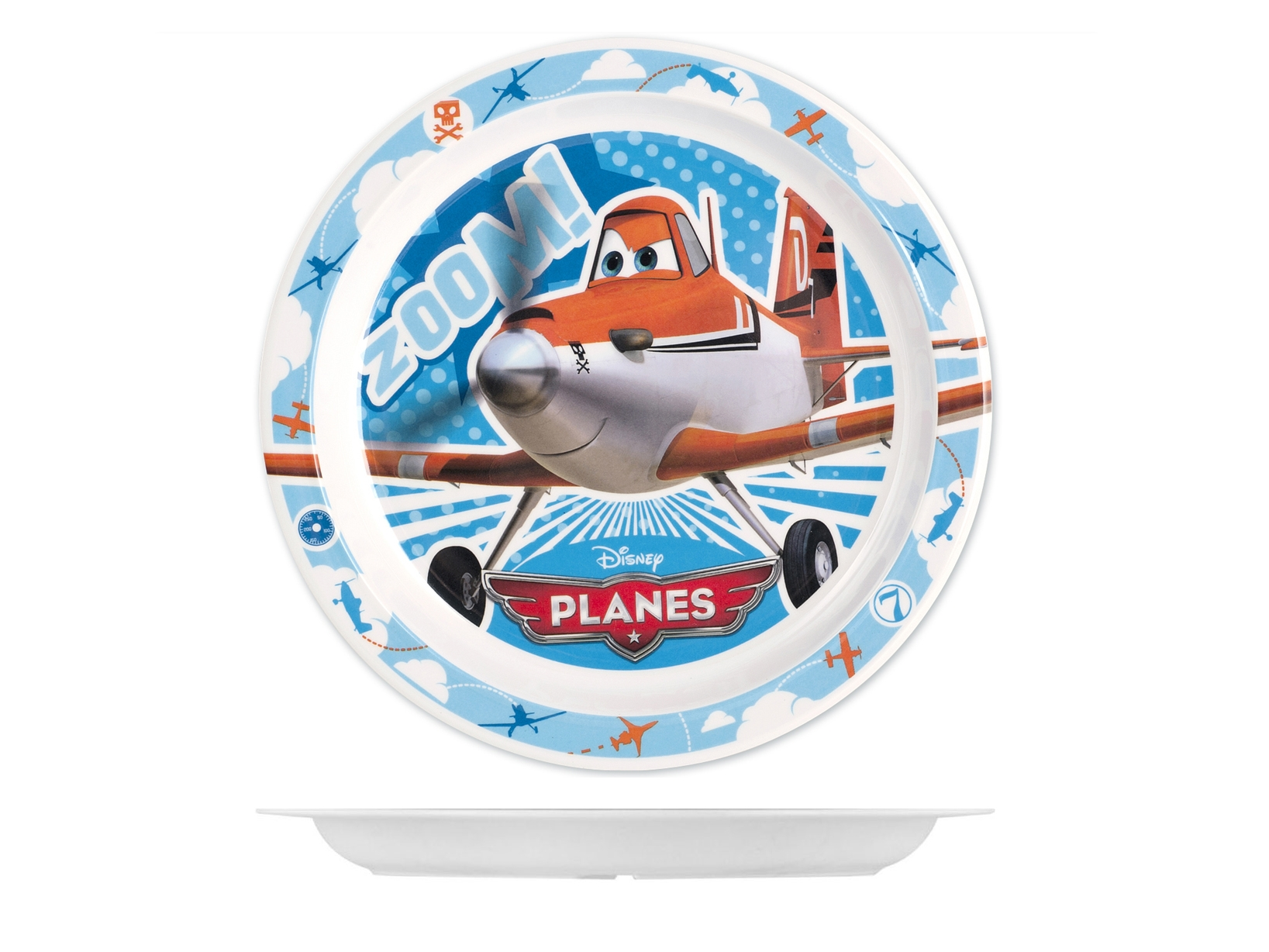 Acquista Piatto Melamina Disney Planes 17528345 | Glooke.com