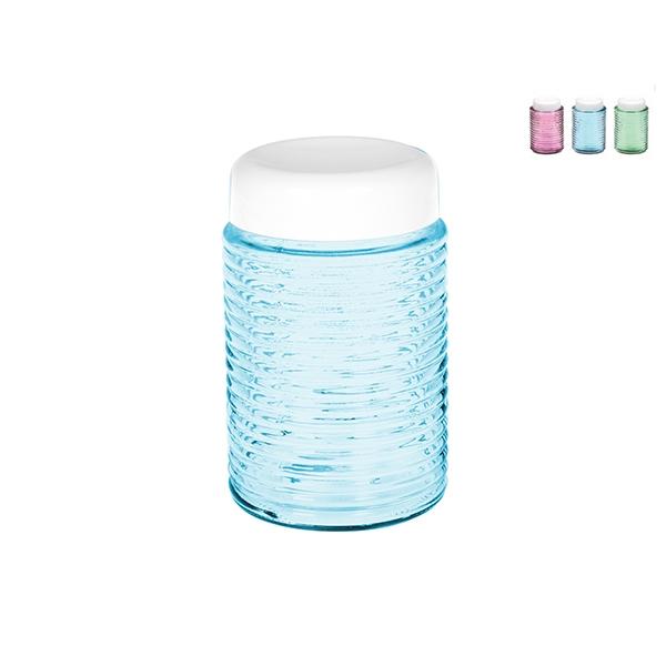 Acquista Barattolo Vetro Plastica Colori 17528390 | Glooke.com