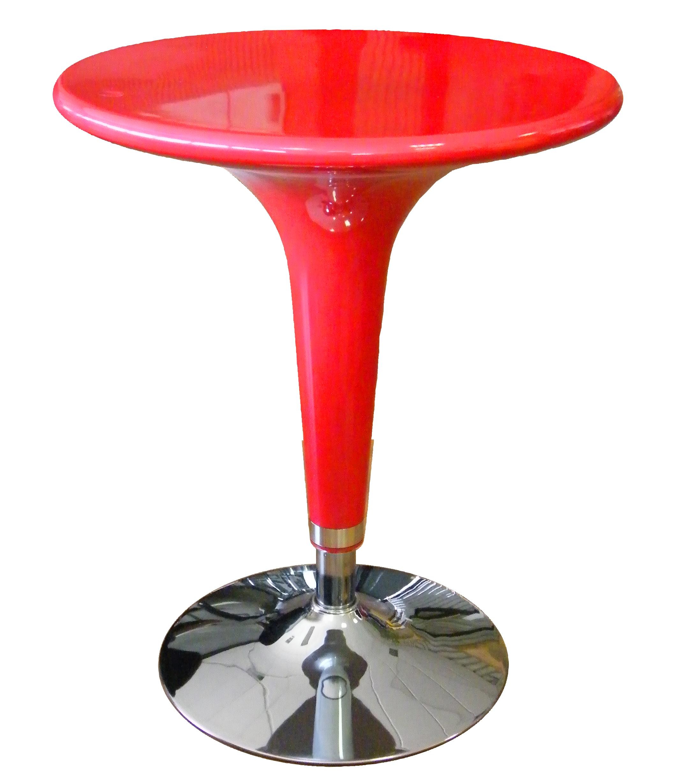 Acquista Tavolo Alzo Gas Rosso Cromato 17551080 | Glooke.com