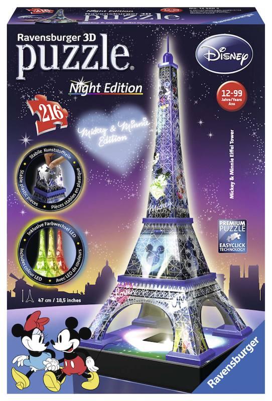 Acquista Puzzle 3d Disney Torre Eiffel 17596784   Glooke.com
