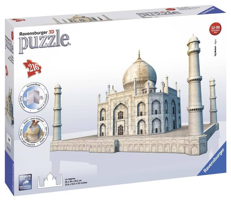 Acquista Puzzle 3d Taj Mahal Puzzeleball 17596770 | Glooke.com