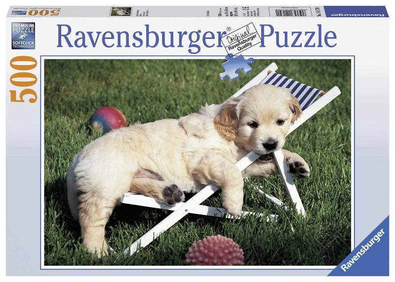 Acquista Puzzle 500 Pezzi Cucciolo Golden 17596700   Glooke.com
