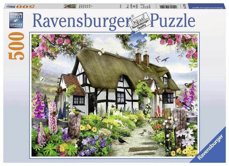 Acquista Puzzle 500 Pezzi English Cottage 17596690 | Glooke.com