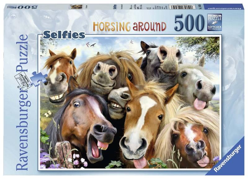 Acquista Puzzle 500 Pezzi Selfie Fattoria 17596691 | Glooke.com