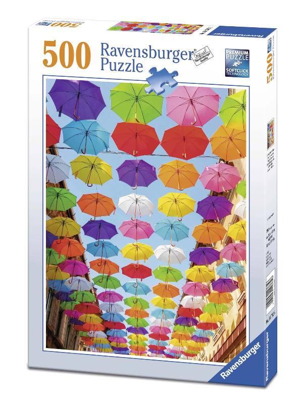 Acquista Puzzle 500 Pezzi Pioggia Colori 17596679 | Glooke.com