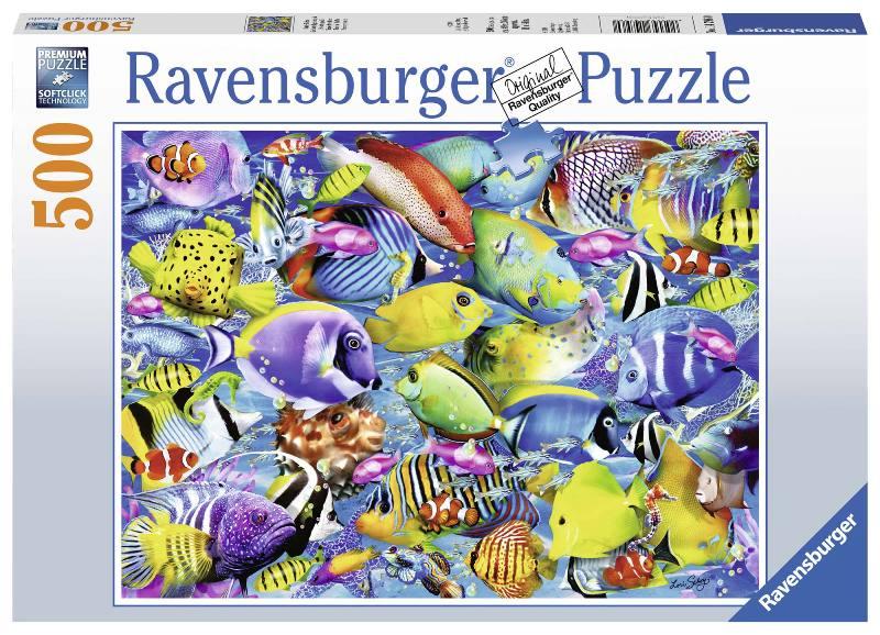 Acquista Puzzle 500 Pezzi Pesci Tropicali 17596668 | Glooke.com