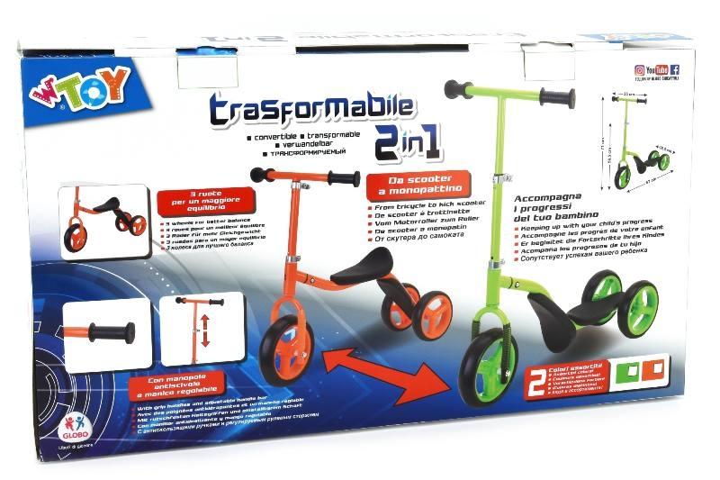 Acquista Scooter Triciclo 2in1 2col Monopattini 17588120 | Glooke.com