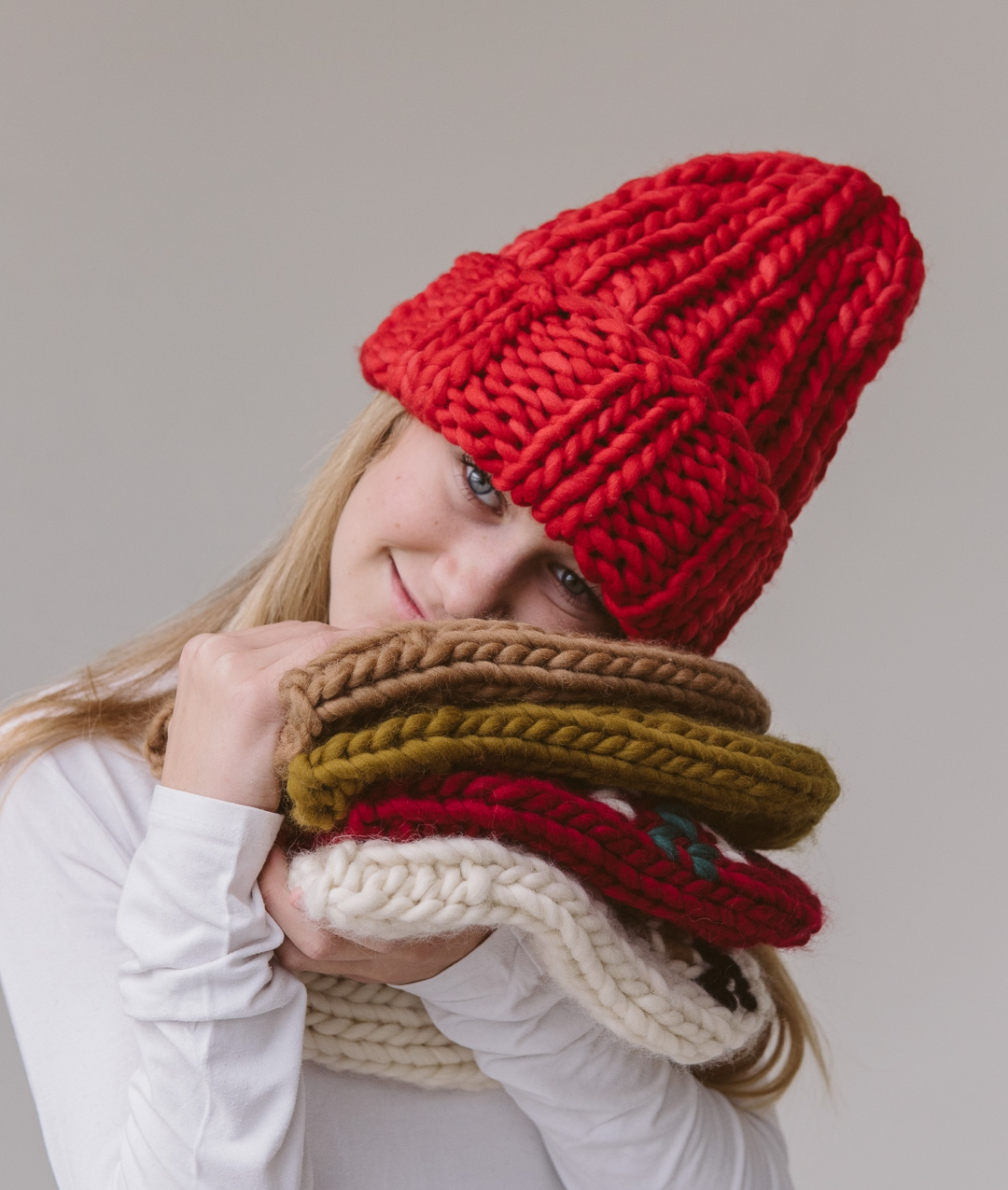 Hats and Beanies - Wool - Ribb Beanie - For Kids - 1