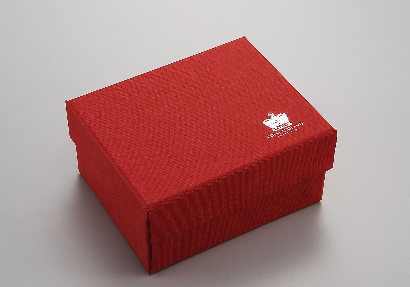 Scatola rossa cm.27x5x4,5h