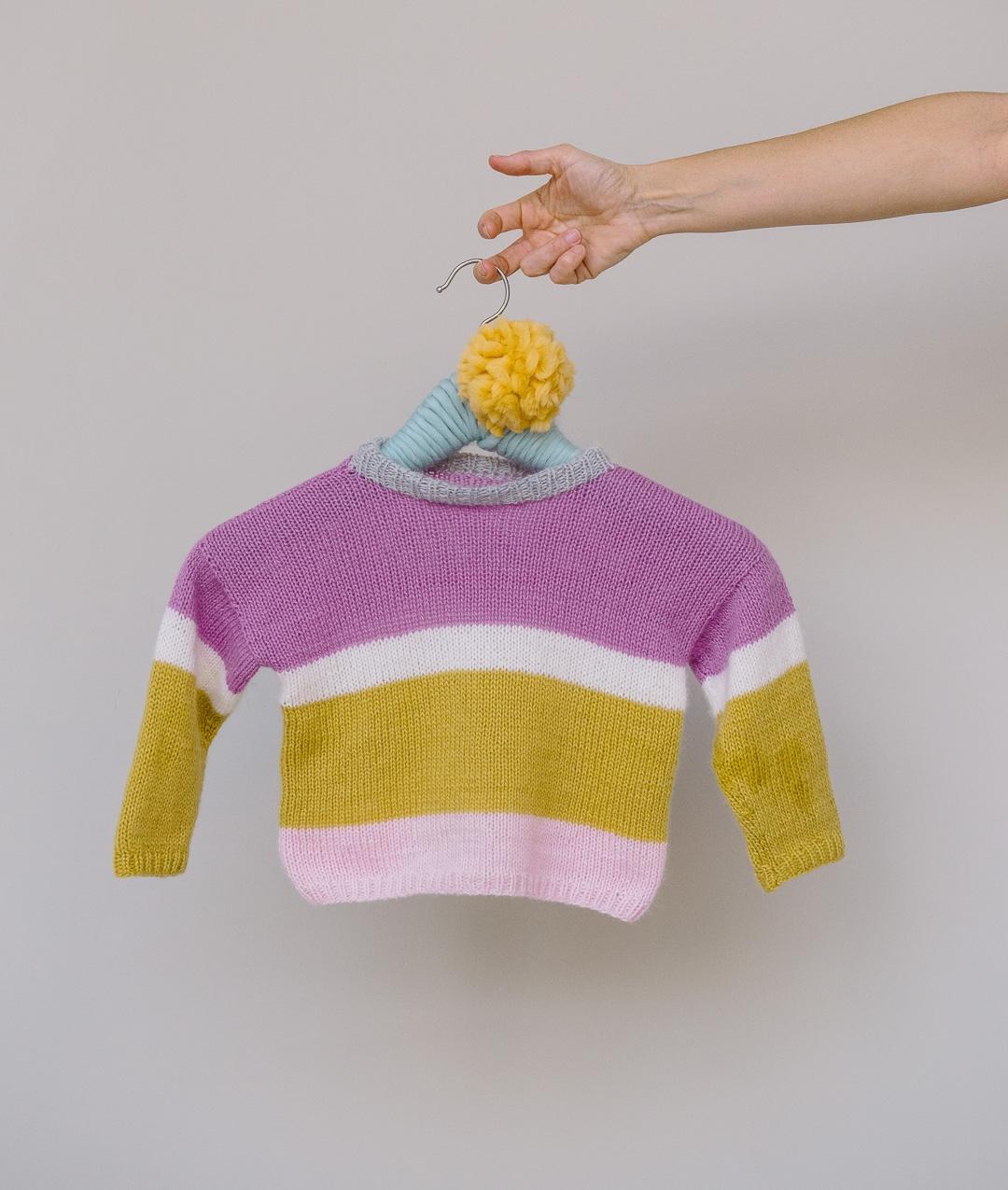 Baby - Wool - MINI ME BABY PULL - 1