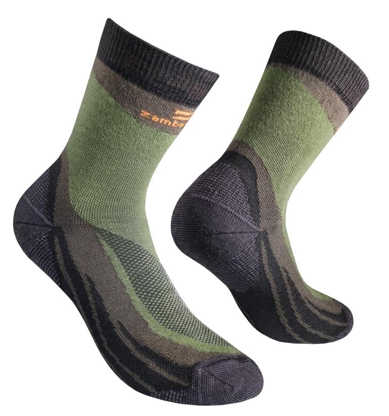 ZAMBERLAN®  FOREST SOCKS - Green